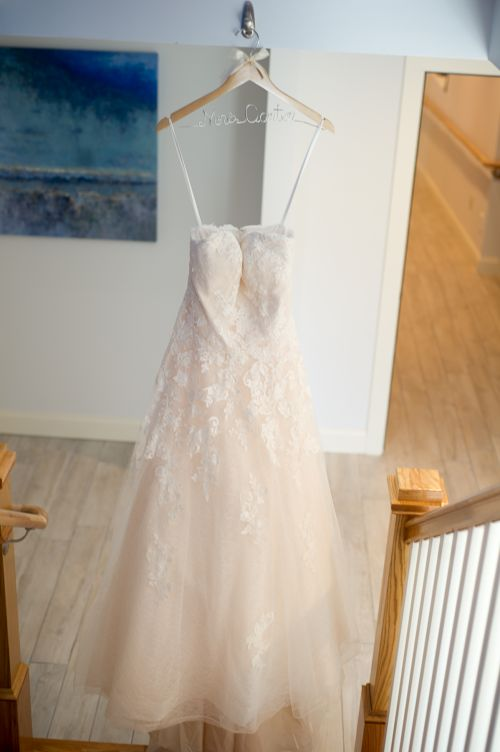 wedding gown detail.  wedding gown sea breeze inn.  wedding rhode island ma wedding photographer detail shots.